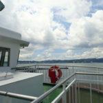 桜島フェリーに乗船しました。